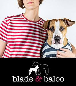 Blade & Baloo Fashion für Hunde- und Pferdefreunde
