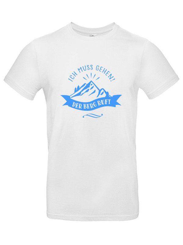 Der Berg ruft Herren T-Shirt