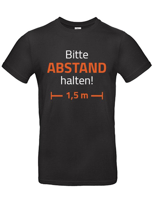 Bitte Abstand halten! Herren T-Shirt