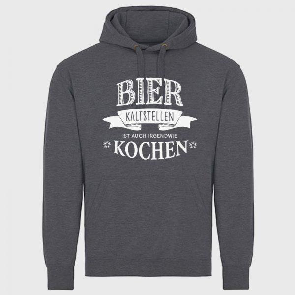 Bier kaltstellen ist auch irgendwie kochen Hoodie