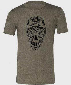 Bike Skull Unisex T-Shirt
