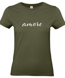 Damen T-Shirt Amore