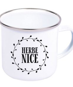 Herbe Nice Emaille-Becher